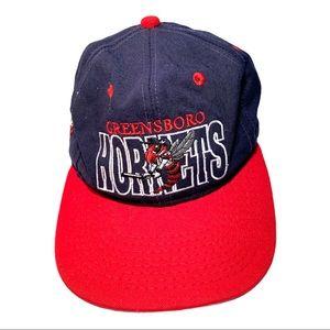 Rare Vintage 90's Hornets NBA Basketball Cap